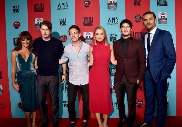 Darren Criss à l'avant première d'American Horror Story