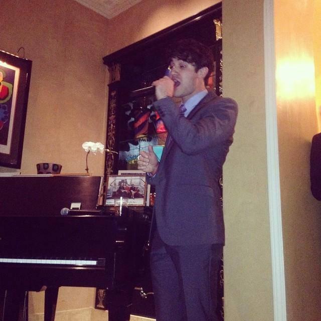 Darren Criss aux 10ème anniversaire du centre clinton