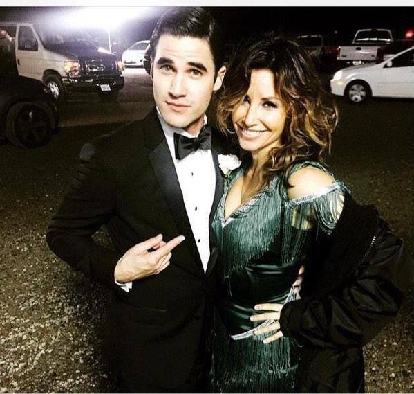 Blaine et sa maman