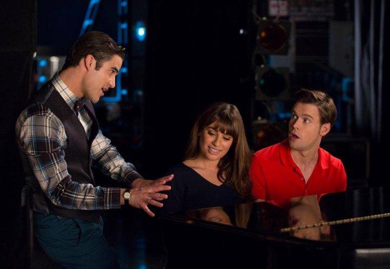 Blaine et Kurt sur les épisodes 3 à 4