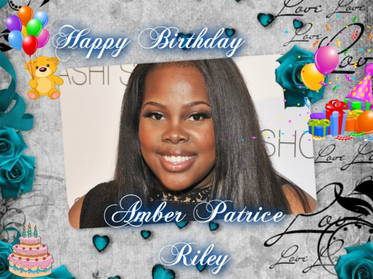 HAPPY BIRTHDAY AMBER RILEY (Mercedes Jones)