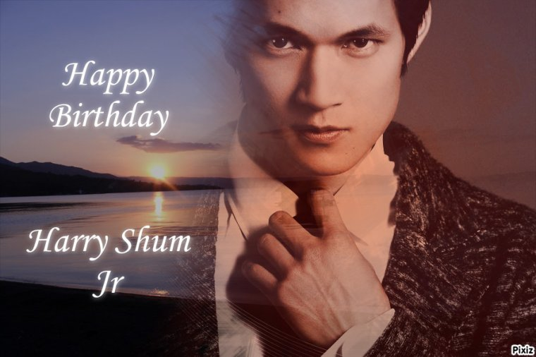 HAPPY BIRTHDAY HARRY SHUM JR (Mike Chang) ET JENNA USHKOWITZ (Tina Cohen Chang)
