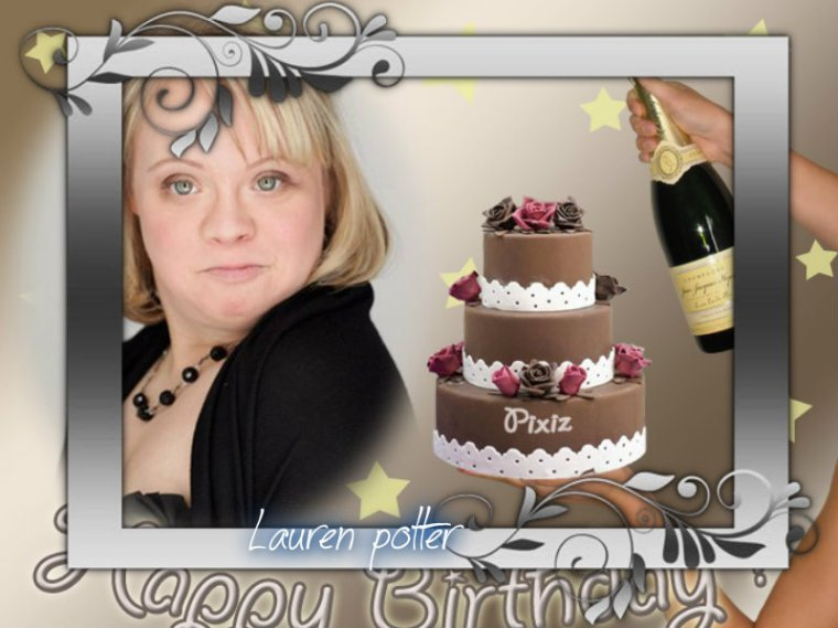 HAPPY BIRTHDAY LAUREN POTTER (Becky Jackson)