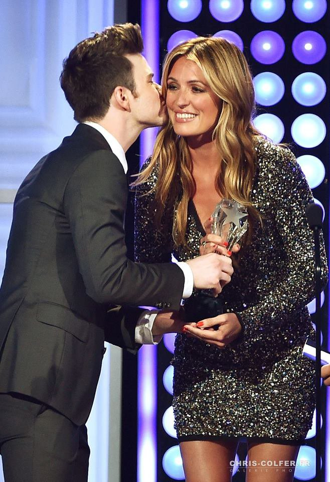 CHRIS COLFER AUX CRITIC'S CHOICE TELEVISION AWARDS