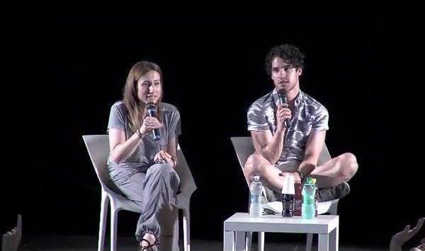 Darren lors du Q&A au festival Giffoni