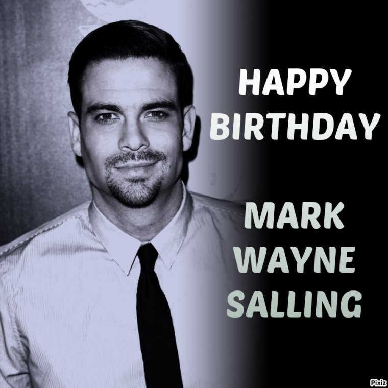 HAPPY BIRTHDAY MARK SALLING (Noah Puckerman)