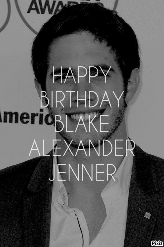 Happy Birthday Blake Alexander Jenner ( Ryder Lynn)