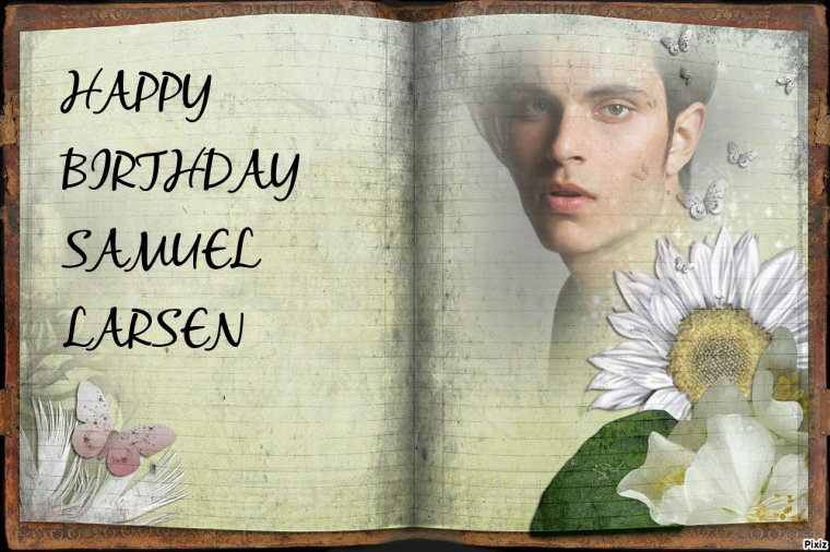 HAPPY BIRTHDAY SAMUEL LARSEN (Joe Hart)