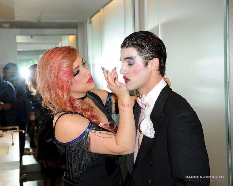 "Darren à la soirée d'Halloween ""WhoSays"