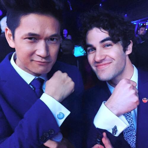 Darren à la première mondiale du nouveau film Star Wars