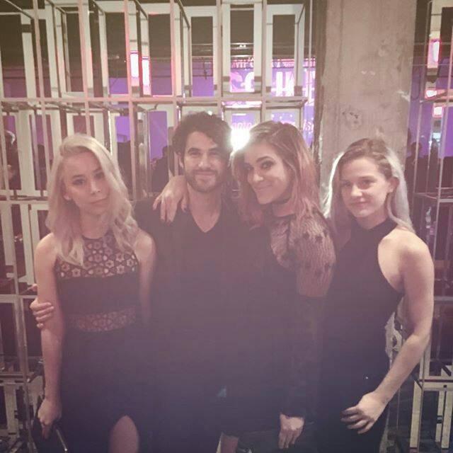 Darren à l'événement Emporio Armani Sounds à Los Angeles, hier soir