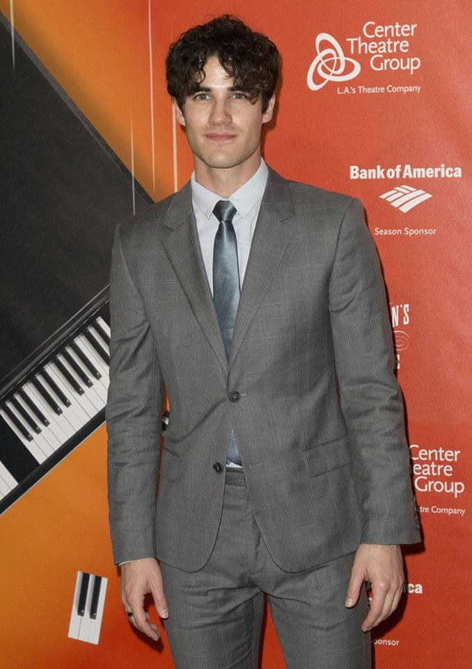 "DARREN A LA PREMIERE DE LA COMEDIE MUSICALE ""A gentleman's Guide To Love And Murder"""