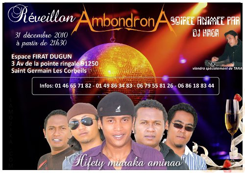 Ambondrona - Réveillon 2010