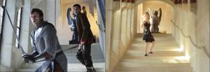 Sur le lieu du tournage de Merlin