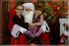 Photos du Père Noël avec mes deux Princesse D'Amour