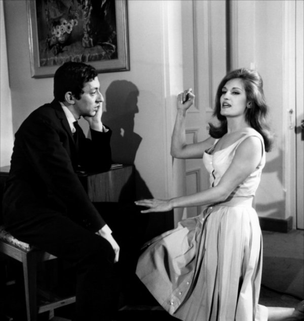 Dalida et Serge Gainsbourg