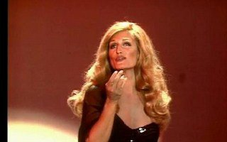 Dalida sur scène.