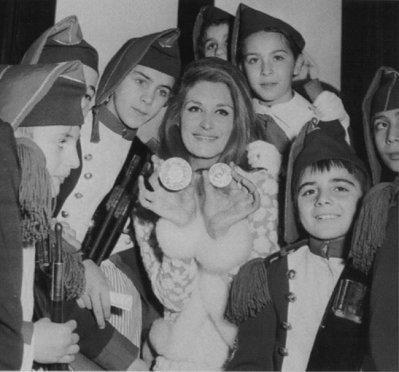 Dalida et les poulbots.