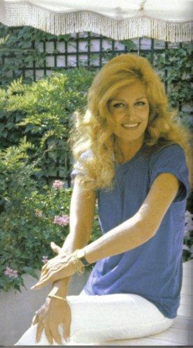 Dalida chez elle 1978.