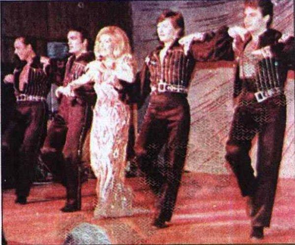 Dalida dernière show.