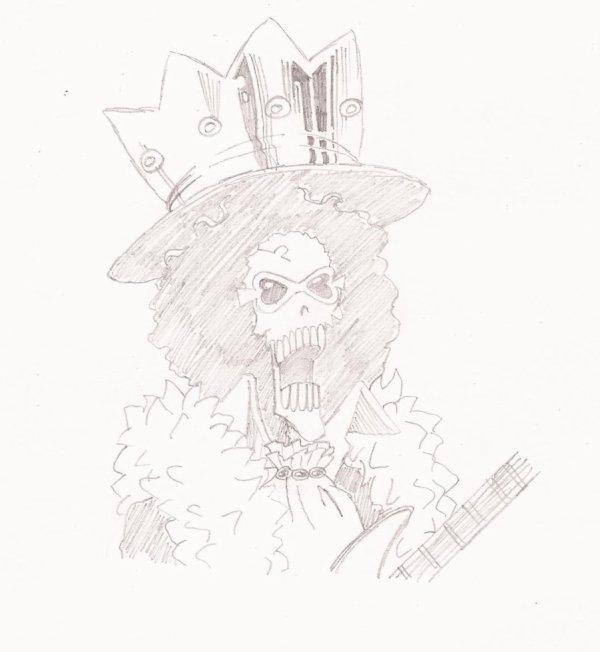 Mon dessin de Brook