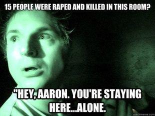 Aaron est une victime MDR