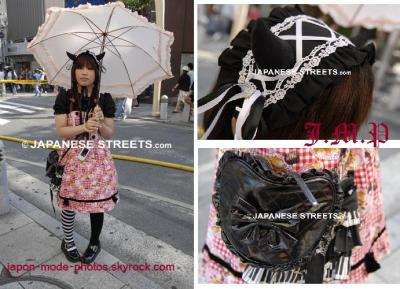 Street Fashion : Lolita sweet et dark
