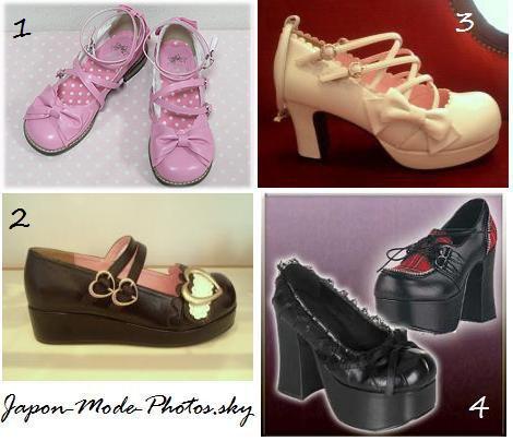 Chaussures : les modèles incontournables chez les Lolitas