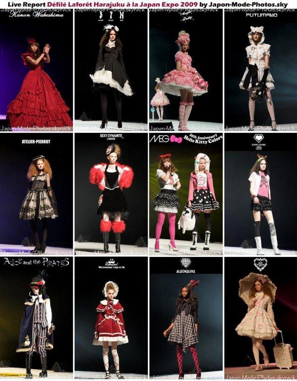 Live Report ~ Défilé Laforêt Harajuku à la Japan Expo 2009
