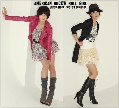 American Rock'n Roll Gals ~ Amekaji Rokku