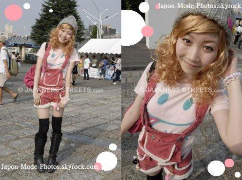 Street Fashion dans l'air du temps et 100% Japan