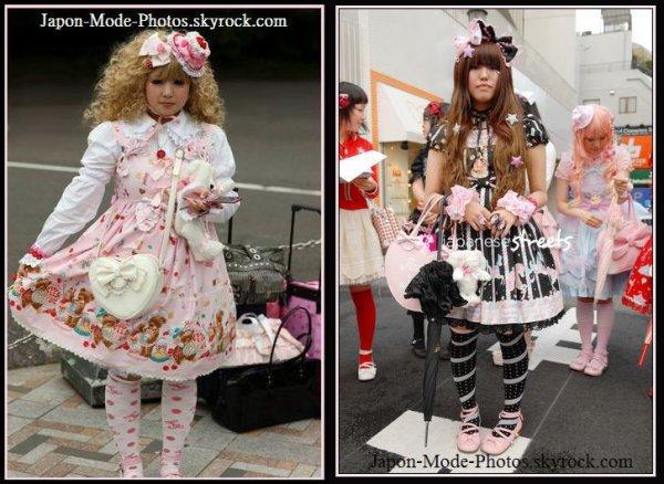 Deco Lolita (street snap)