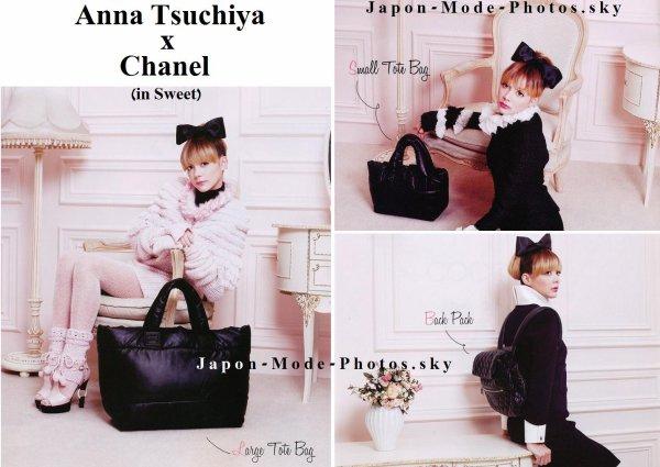 Anna Tsuchiya et Chanel