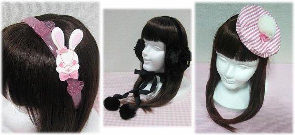 Les accessoires pour cheveux des Lolitas ~ Lexique du Head Dress