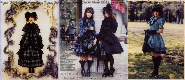 Gorgeous Gothic Lolita ~ Visible