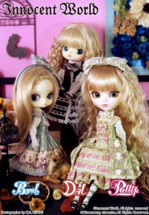 Les poupées - Pullip