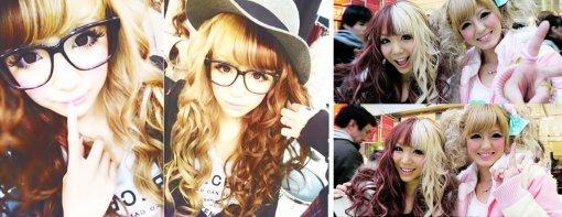 Hair ~ Tendance bicolore