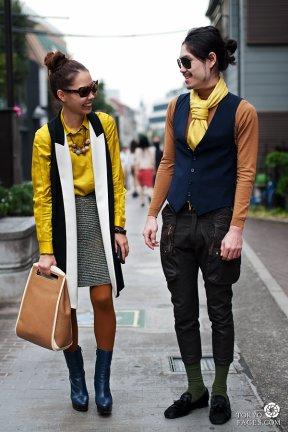 Street Snap spécial pair look #8