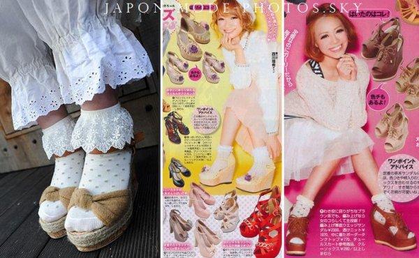 Tendance : Sandales et chaussettes c'est possible ?