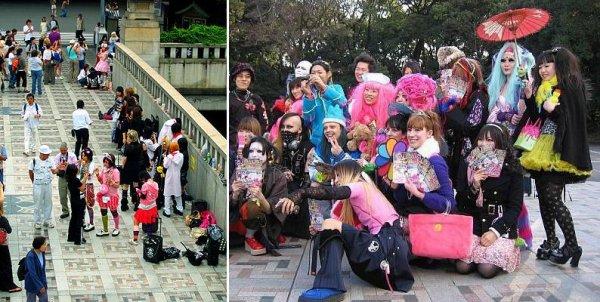 Les lieux de la mode à Tokyo : quartier Harajuku