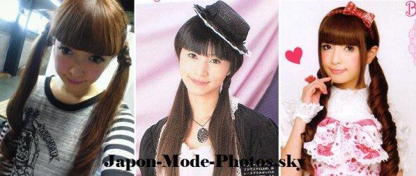 Les couettes : la coiffure 100% Lolita