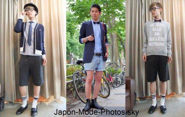 Preppy style version Gyaru et au masculin