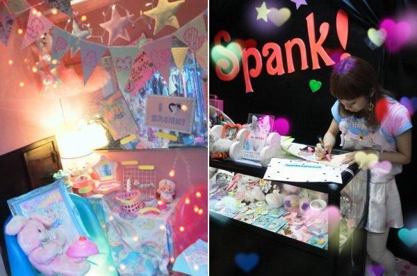 Tavuchi créatrice de la marque et tendance Spank !