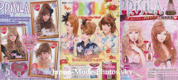 PRISILA : la marque référence des perruques