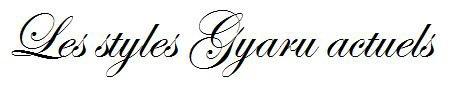 SOMMAIRE DES ARTICLES TAGGES 'GYARU'