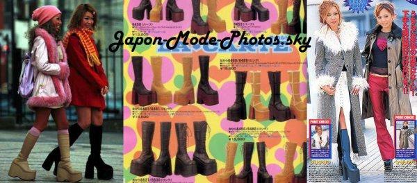 Les bottes des Gyaru