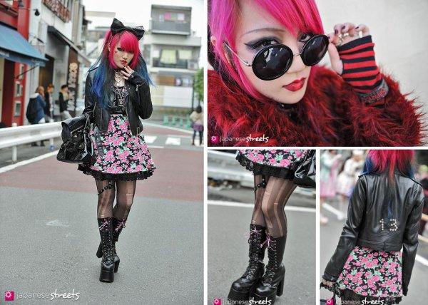 Street fashion spéciale looks Rock et Girly avec Risa