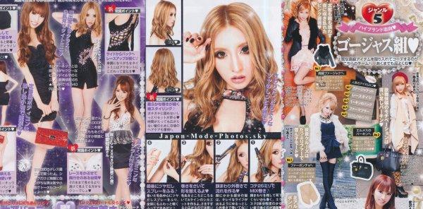 Fueromon & Gojiasu : les nouvelles tendances Sexy Gyaru