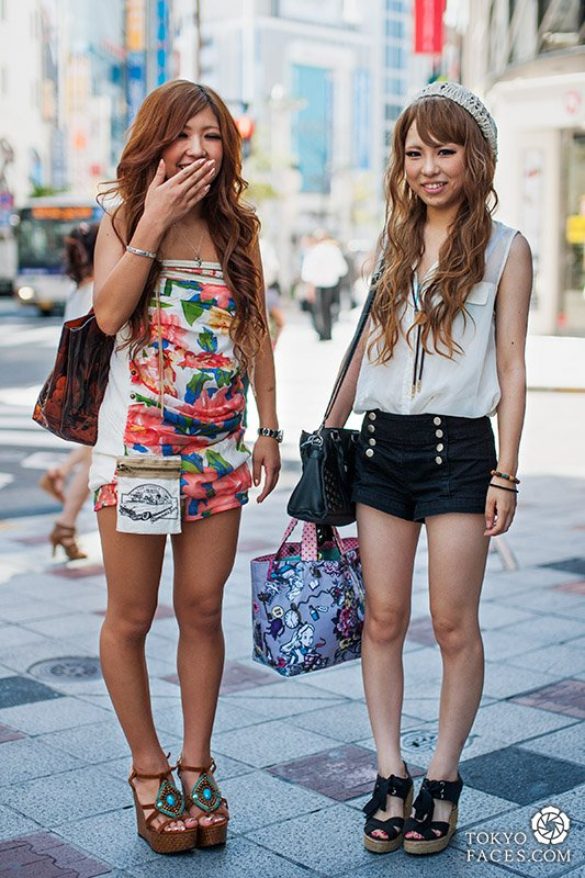 Street snap : Shibuya Gals version été