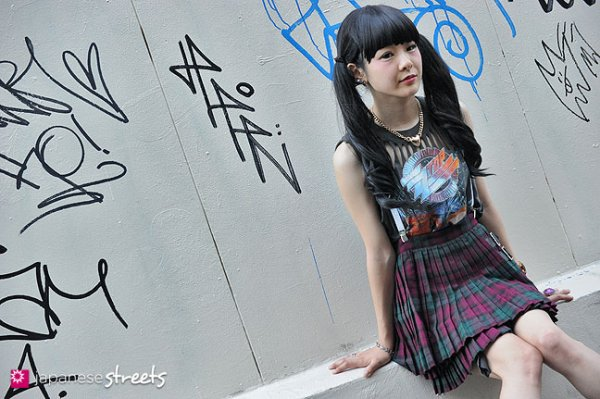 Street fashion : Rock et Girly